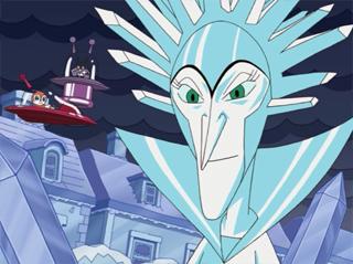 氷の女王とばいきんまん