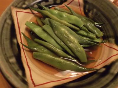 10.18七月豆の煮付け