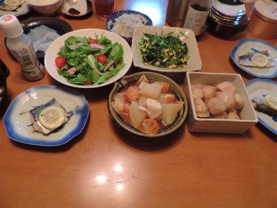 11.4夕食