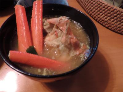 11.14カニの味噌汁