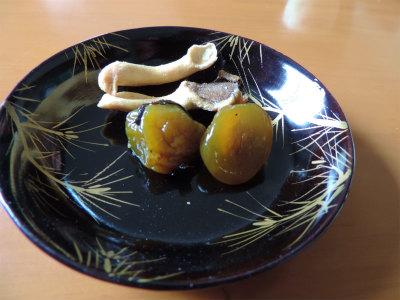 11.21梅のお菓子とキノコのお菓子
