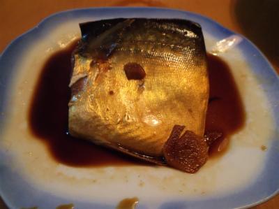 11.23鯖の煮付け