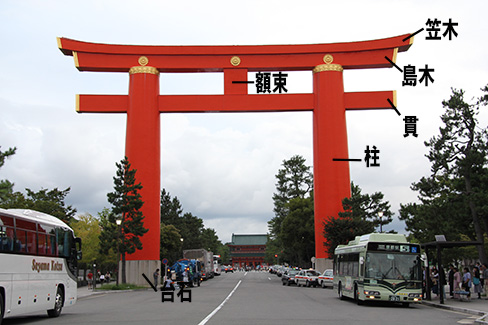 明神鳥居の構成_H27.09.09撮影