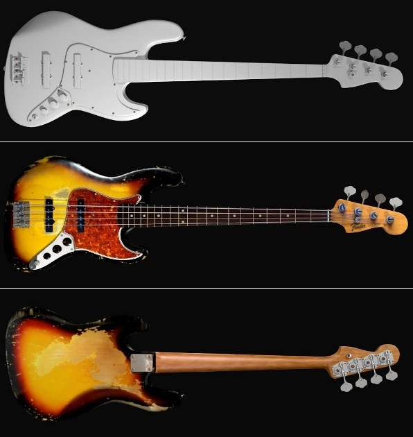 fender jazz bass 64