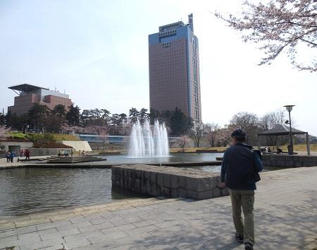 015前橋公園、噴水