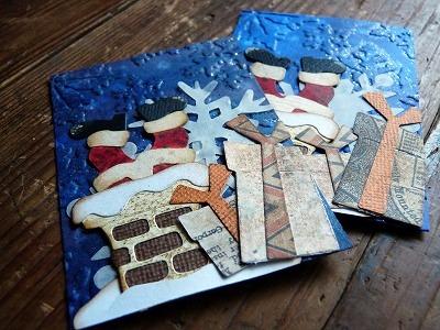 Christmas ATC - Santa Gift