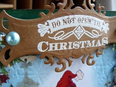 Shiny Christmas card