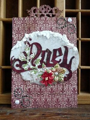 クリスマスイーゼルカード