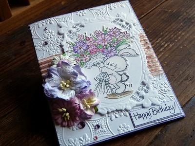 cori♪さんから、「Birthday Card」をいただきました♪