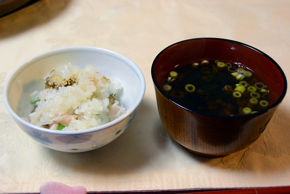 ワラサ香の物寿司20151022