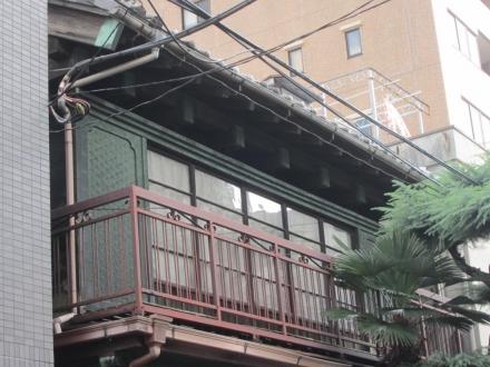 台東3丁目 瓦葺銅板出し桁④