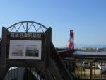 筑後若津駅跡地(2015.10.3)