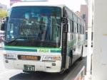 佐賀空港行き準急バス(2015.10.3)