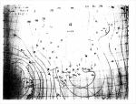 震災当日の天気図