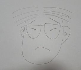 ダディの似顔絵