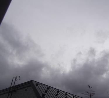 どんよりの天気が続くと