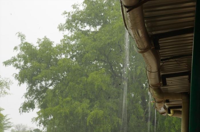 ビクトリアフォールズで大雨 (1)