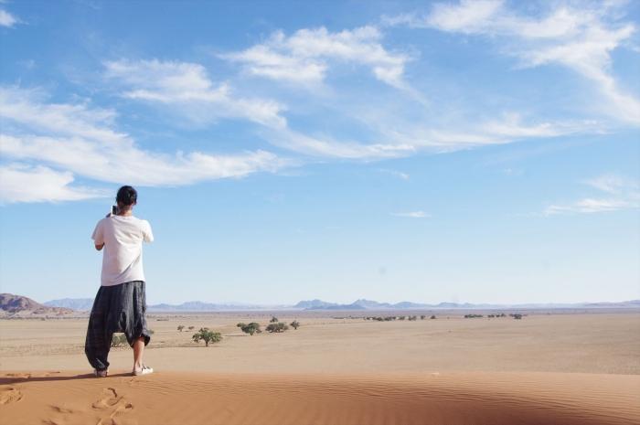 ナミブ砂漠サンセット (6)