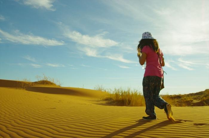 ナミブ砂漠サンセット (11)
