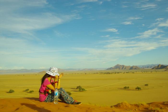 ナミブ砂漠サンセット (27)