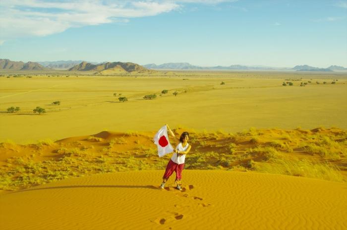 ナミブ砂漠サンセット (18)