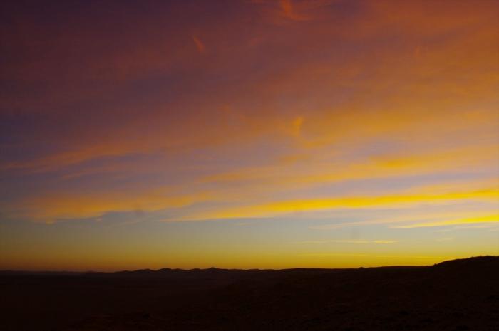 ナミブ砂漠サンセット (47)