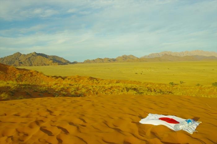ナミブ砂漠サンセット (32)