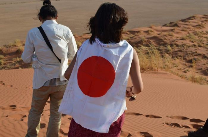 ナミブ砂漠サンセット2