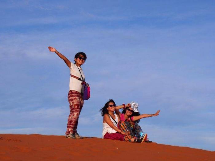 ナミブ砂漠サンセット3