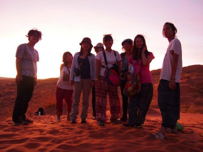 ナミブ砂漠サンセット4