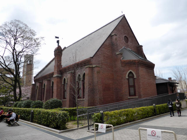 同志社礼拝堂2