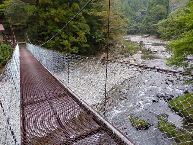 明神の吊橋5