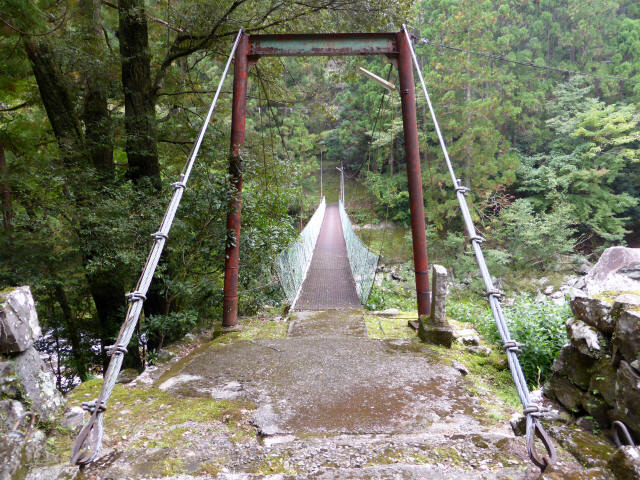明神の吊橋7