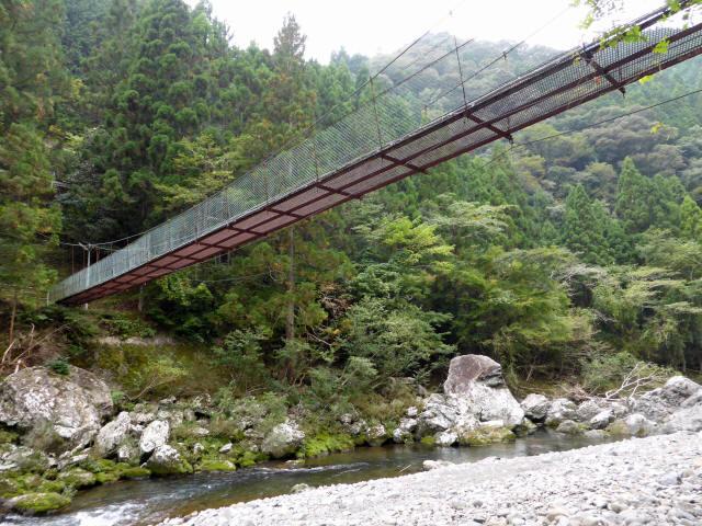 明神の吊橋8
