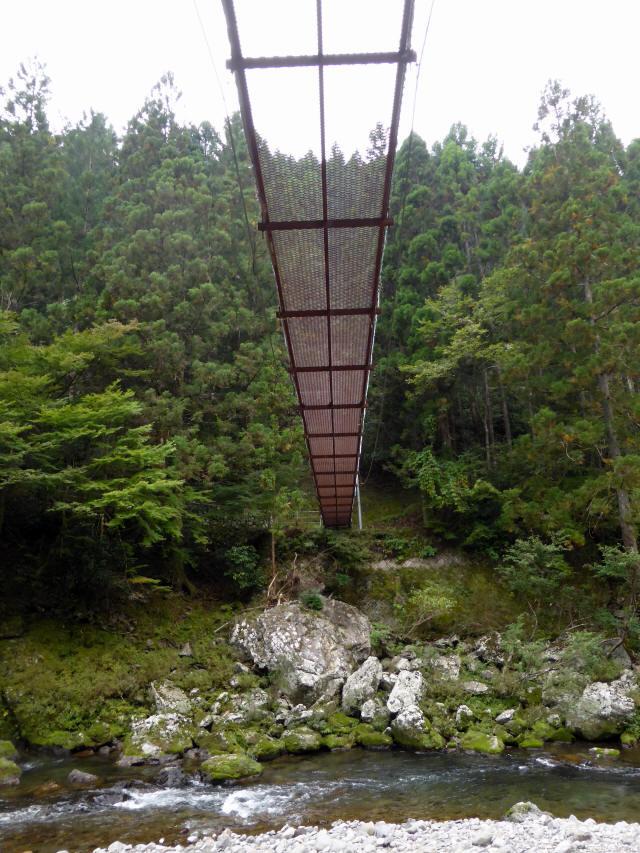 明神の吊橋9
