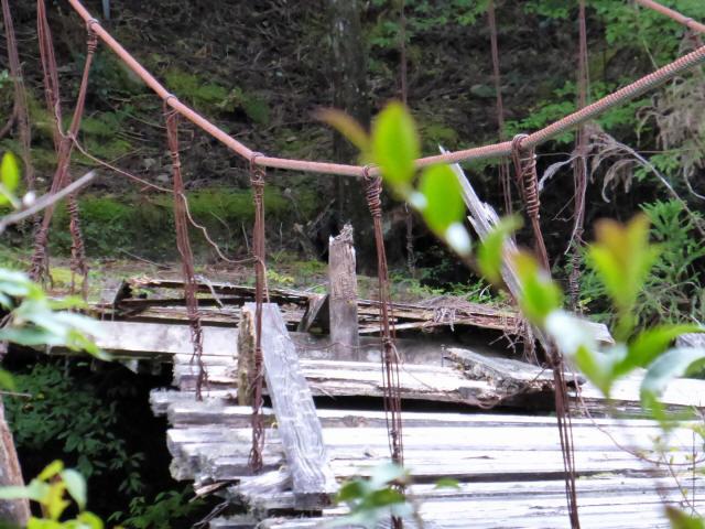 東俣の吊橋4