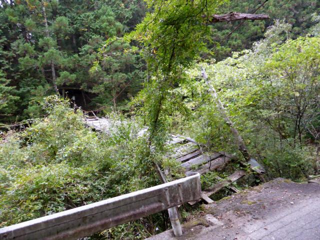 東俣の吊橋5