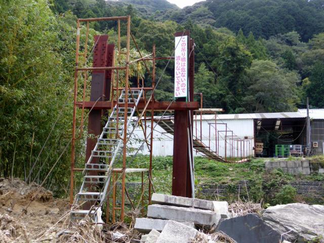 一ノ瀬の吊橋4