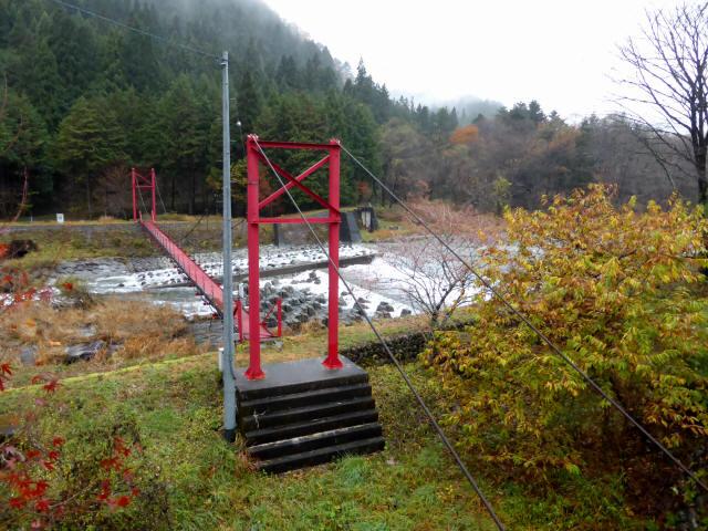 北部用水管理用つり橋1