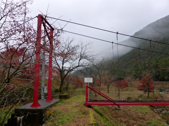 北部用水管理用つり橋3