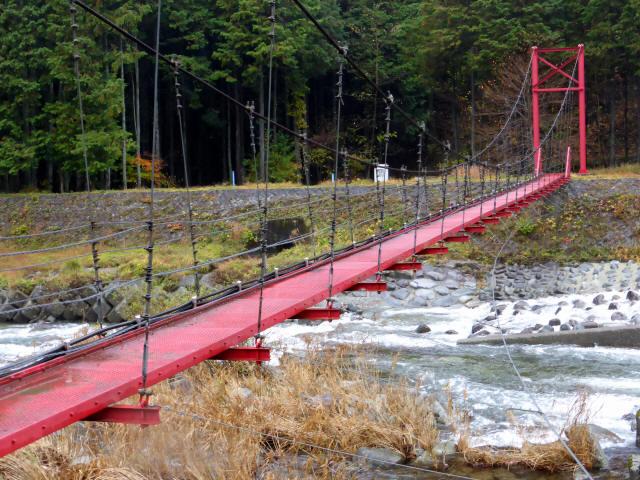 北部用水管理用つり橋4