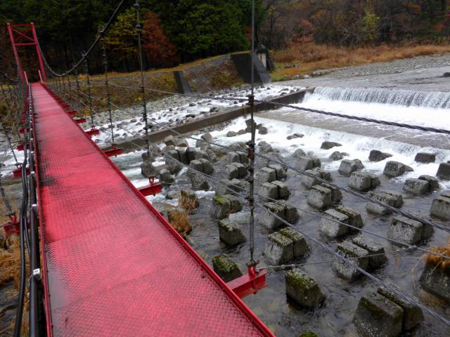 北部用水管理用つり橋5