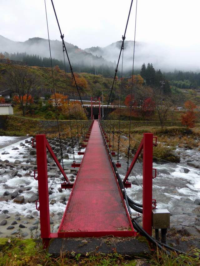 北部用水管理用つり橋6