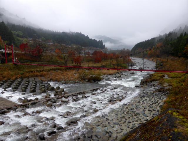 北部用水管理用つり橋8