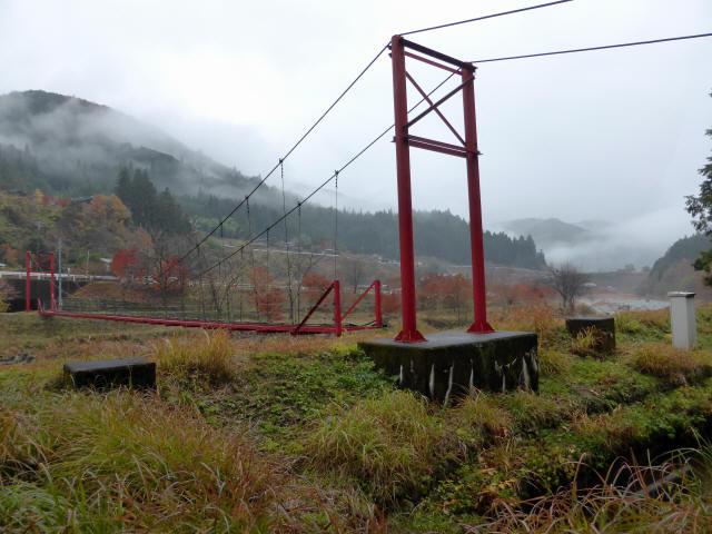 北部用水管理用つり橋9