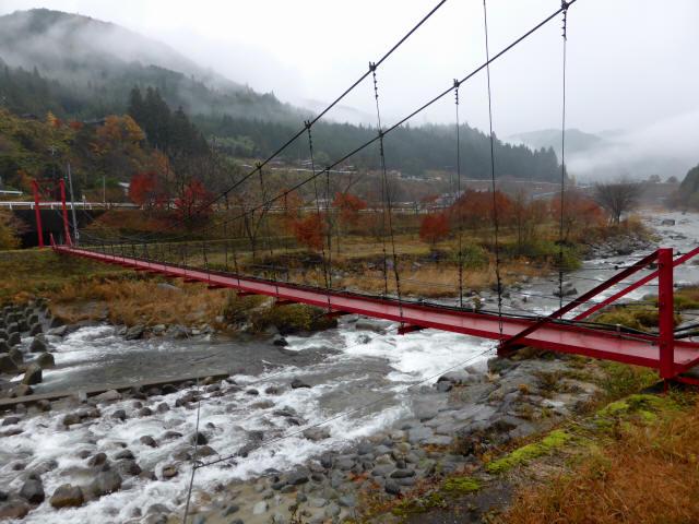 北部用水管理用つり橋0