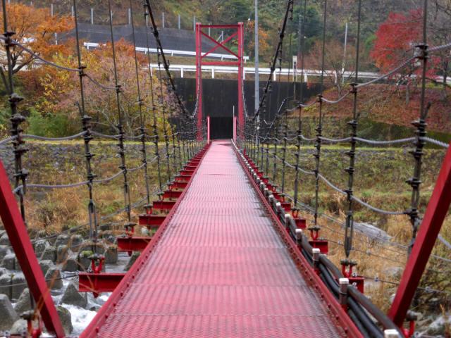 北部用水管理用つり橋a
