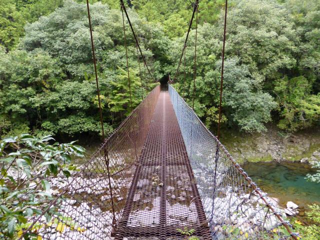 久保の吊橋2