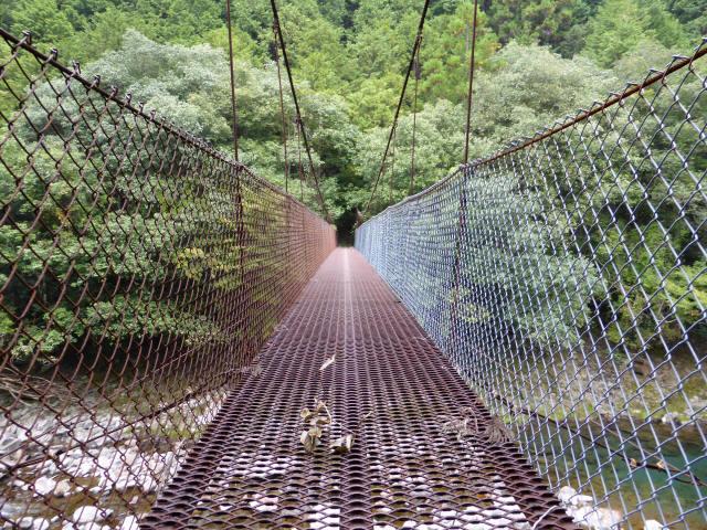 久保の吊橋4