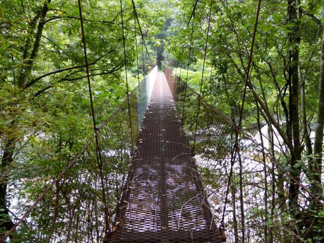 久保の吊橋5